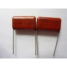 105j 250v polyester film capacitor