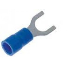 4.6mm fork terminal blue