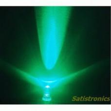 5mm LED white/green