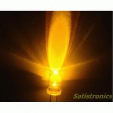 5mm LED white/orange